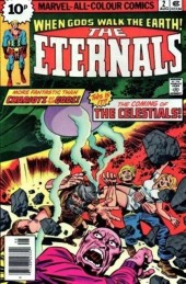 The eternals Vol.1 (Marvel comics - 1976) -2UK- The Celestials!