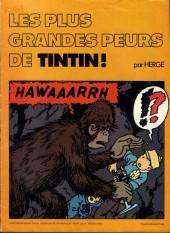 Tintin - Publicités -Chevron- Les plus grandes peurs de Tintin !