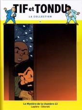 Tif et Tondu - La collection (Hachette)  -45- Le Mystère de la chambre 43
