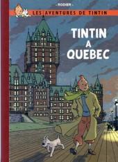 Tintin - Pastiches, parodies & pirates - Tintin à Québec