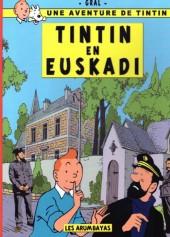Tintin - Pastiches, parodies & pirates - Tintin en Euskadi
