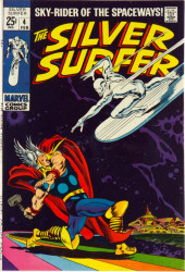 Silver Surfer Vol.1 (Marvel comics - 1968) -4- The good, the bad, and the uncanny!