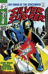 Silver Surfer Vol.1 (Marvel comics - 1968) -5- And who shall mourn for him?