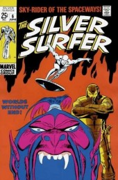 Silver Surfer Vol.1 (Marvel comics - 1968) -6- Worlds without end!