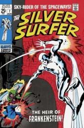 Silver Surfer Vol.1 (Marvel comics - 1968) -7- The heir of Frankenstein!