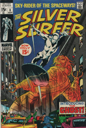 Silver Surfer Vol.1 (Marvel comics - 1968) -8- Now strikes the ghost!