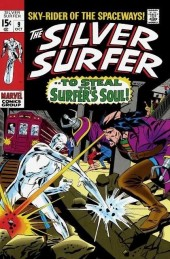Silver Surfer Vol.1 (Marvel comics - 1968) -9- To steal the surfer's soul!