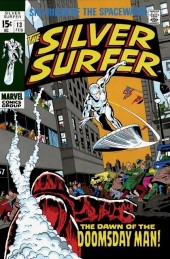 Silver Surfer Vol.1 (Marvel comics - 1968) -13- The dawn of the doomsday man!