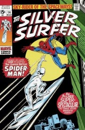 Silver Surfer Vol.1 (Marvel comics - 1968) -14- The surfer and the spider!