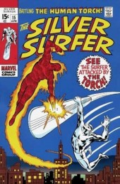 Silver Surfer Vol.1 (Marvel comics - 1968) -15- The flame and the fury!
