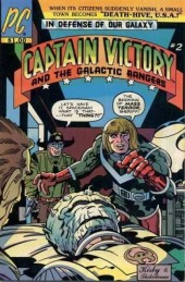 Captain Victory and the Galactic Rangers (1981) -2- Death-hive, U.S.A.!