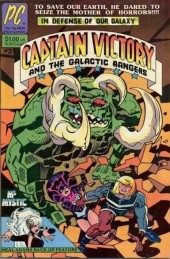 Captain Victory and the Galactic Rangers (1981) -3- Encounters of a savage kind