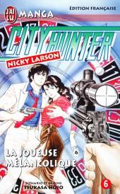 City Hunter - Nicky Larson -6- La Joueuse mélancolique
