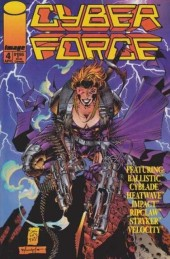 Cyberforce (1993) -4- Assault with a deadly woman, part 1
