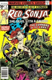 Red Sonja Vol.1 (Marvel comics - 1977) -4- The lake of the unknown