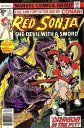 Red Sonja Vol.1 (Marvel comics - 1977) -5- Master of the bells