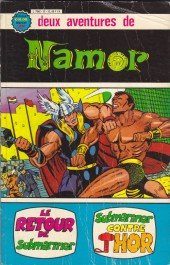 Namor -Rec02- Album N°12 (n°3 et n°4)