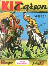 Kit Carson -33- Les tueurs de Buffalos
