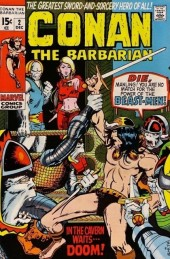 Conan the Barbarian Vol 1 (Marvel - 1970) -2- Lair of the Beast-Men!