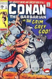 Conan the Barbarian Vol 1 (Marvel - 1970) -3- The Twilight of the Grim Grey God!