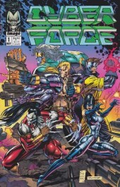 Cyberforce (1992) -1- The tin men of war: part one