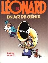 Léonard -21- Un air de génie