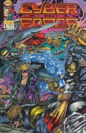 Cyberforce (1992) -2- The tin men of war: part two