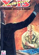 X-13 agent secret -27- Le long voyage