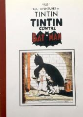 Tintin - Pastiches, parodies & pirates - Tintin contre Batman