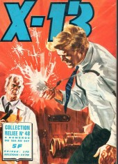 X-13 agent secret -Rec48- Collection reliée N°48 (du n°324 au n°327)