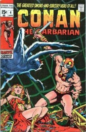 Conan the Barbarian Vol 1 (Marvel - 1970) -4- The tower of the elephant!