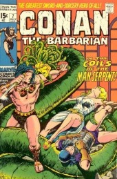 Conan the Barbarian Vol 1 (Marvel - 1970) -7- The lurker within!