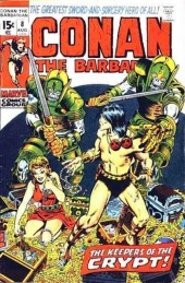 Conan the Barbarian Vol 1 (Marvel - 1970) -8- The keepers of the crypt!