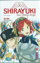 Shirayuki aux cheveux rouges -11- Tome 11