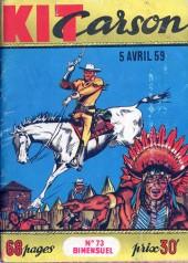 Kit Carson -73- Les racketters de la prairie