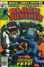 Black Panther Vol.1 (Marvel - 1977) -5- Quest for the sacred water-skin!!