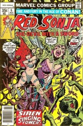 Red Sonja Vol.1 (Marvel comics - 1977) -6- The singing tower