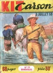 Kit Carson -79- Les bandits fantômes