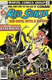 Red Sonja Vol.1 (Marvel comics - 1977) -7- Throne of blood