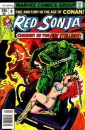 Red Sonja Vol.1 (Marvel comics - 1977) -9- Chariot of the fire stallions!