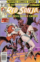 Red Sonja Vol.1 (Marvel comics - 1977) -10- Red lace part 1: angels from hell