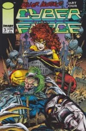 Cyberforce (1993) -3- Killer instinct: chapter four