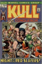 Kull the Conqueror (1971) -4- Night of the red slayers!