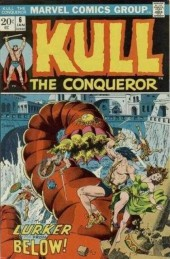 Kull the Conqueror (1971) -6- The lurker beneath the earth!