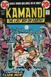 Kamandi, The Last Boy On Earth (1972) -6- Captives of the lion men!