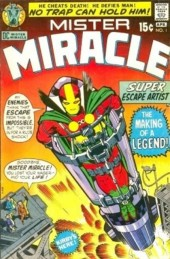 Mister Miracle (DC comics - 1971) -1- The murder missile trap!
