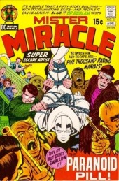Mister Miracle (DC comics - 1971) -3- The paranoid pill!