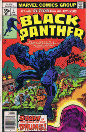 Black Panther Vol.1 (Marvel - 1977) -7- Drums!