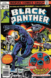 Black Panther Vol.1 (Marvel - 1977) -9- Black musketeers