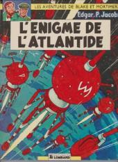 Blake et Mortimer (Les aventures de) (Historique) -6g1977- L'Énigme de l'Atlantide